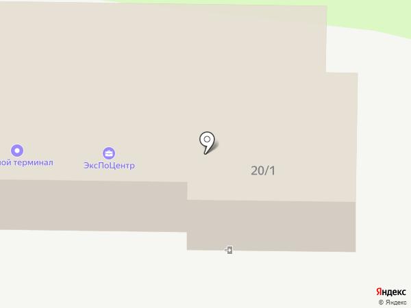 Светодар на карте Томска