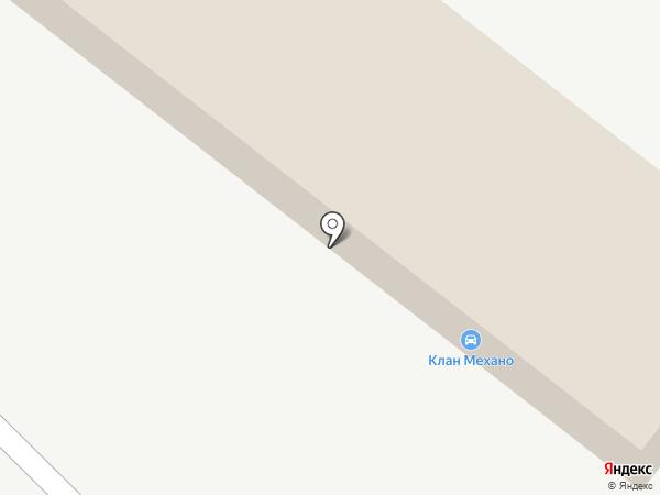 Автомойка самообслуживания на карте Томска