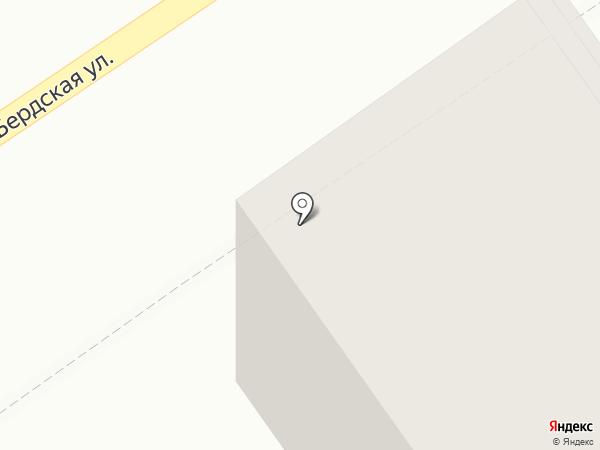 Барбарис на карте Томска