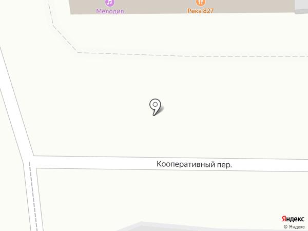 Река 827 на карте Томска