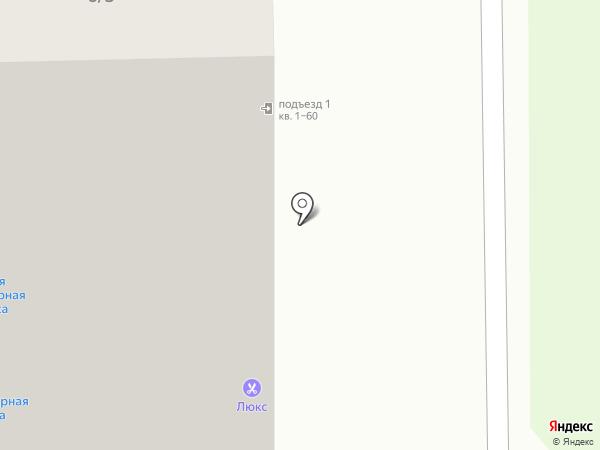 Бушэ на карте Томска