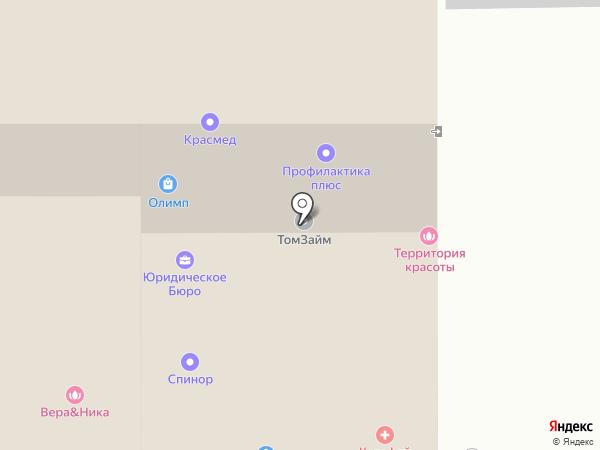 Магазин-Квартир-Томск на карте Томска