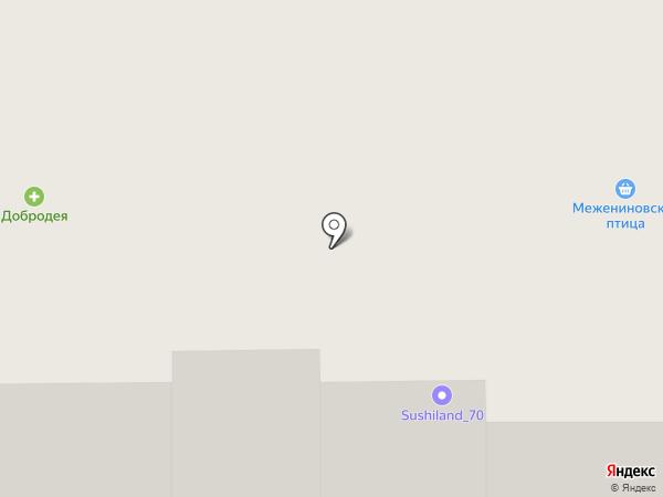 Бункер на карте Томска