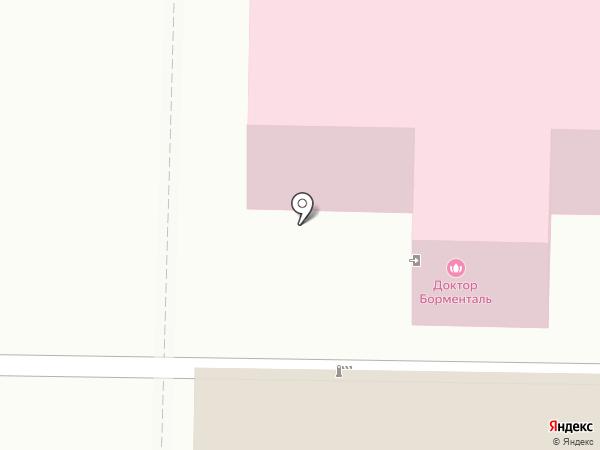 Доктор Борменталь на карте Томска