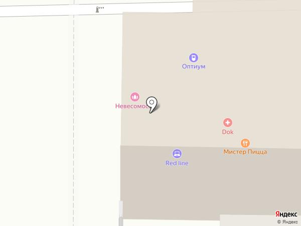 DOK на карте Томска