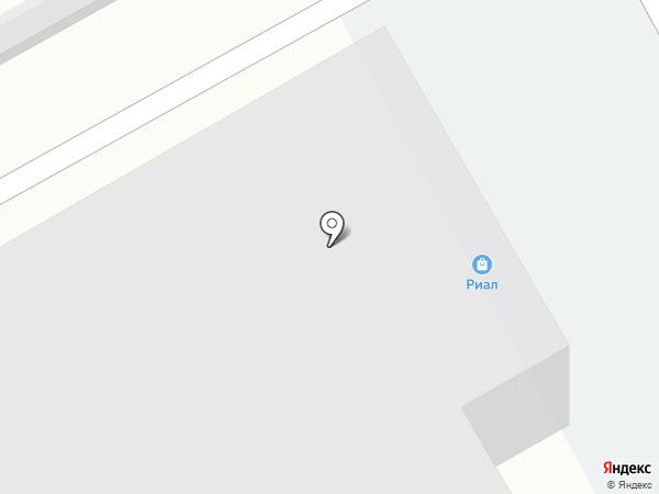 Риал на карте Томска