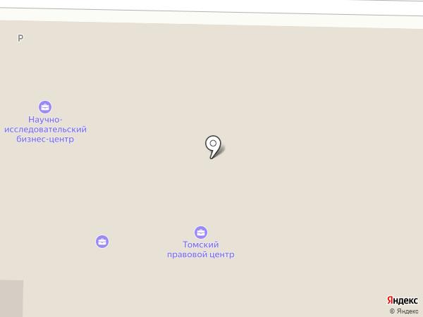 Компания юридических услуг на карте Томска