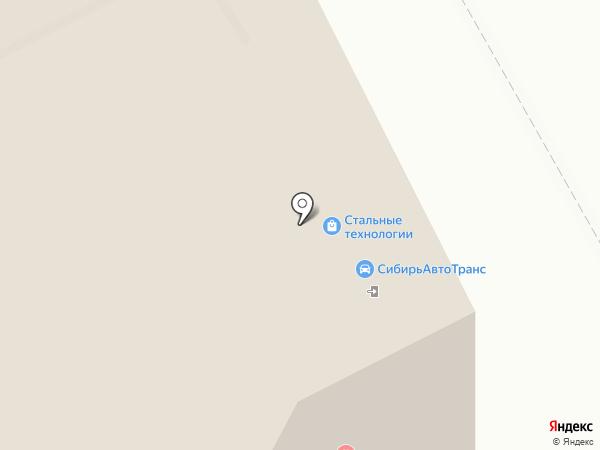 СИБЭНЕРГОИНЖИНИРИНГ на карте Томска