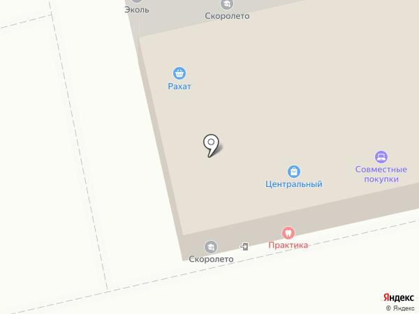 Сток Европейка на карте Томска