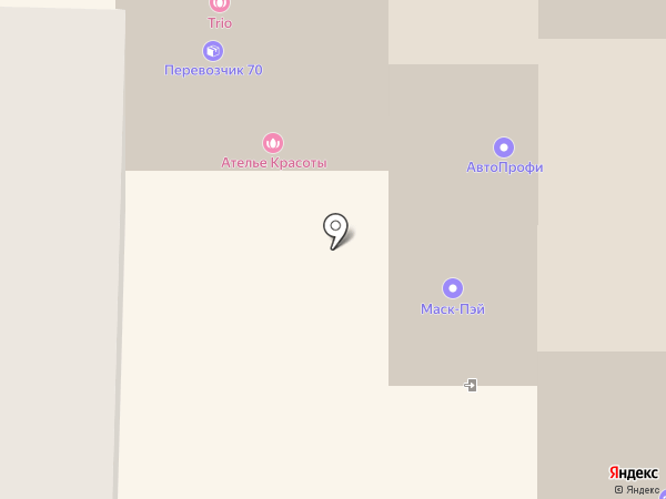 Эвазмед на карте Томска