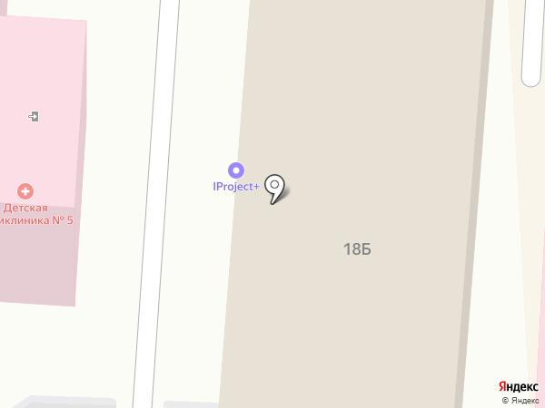 Архитектурно-планировочное управление, МБУ на карте Томска