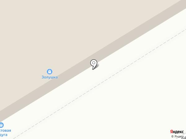 Трубачево на карте Томска