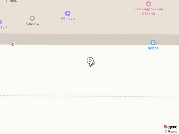 Универсал на карте Томска