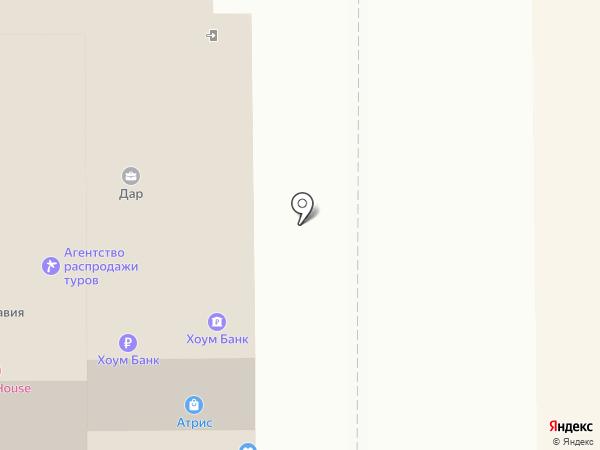 Главное платье на карте Томска