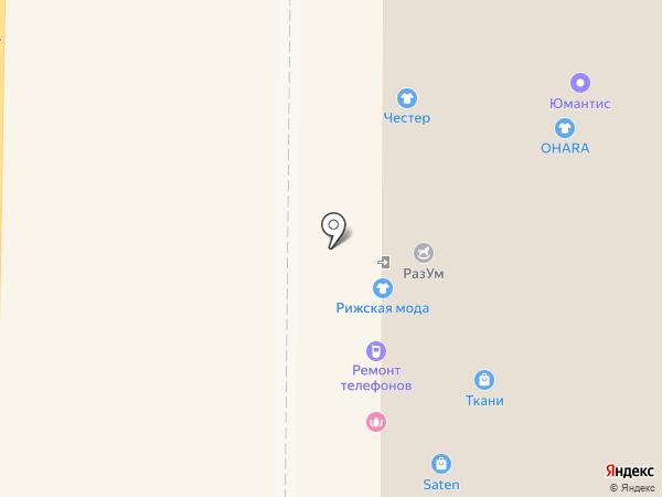 ВстройСити на карте Томска