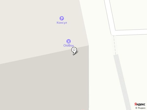 Marcher на карте Томска