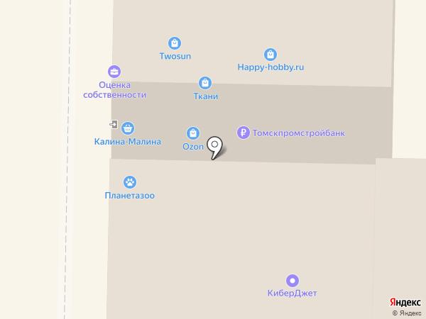 Мишель на карте Томска