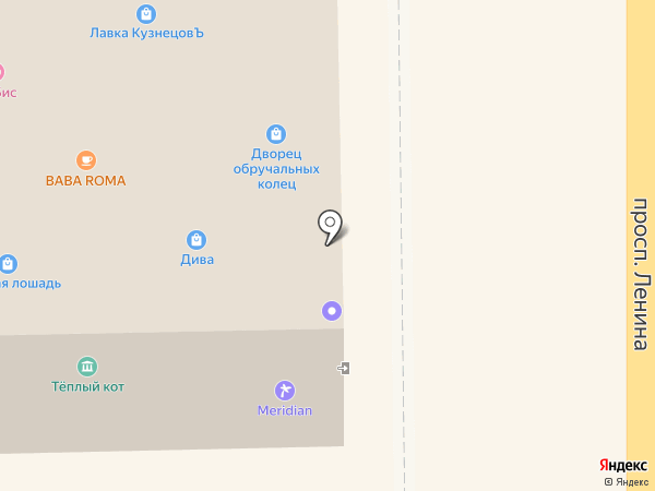 FLORANGE на карте Томска