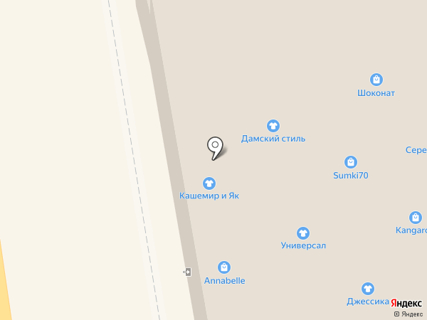Консуэло на карте Томска