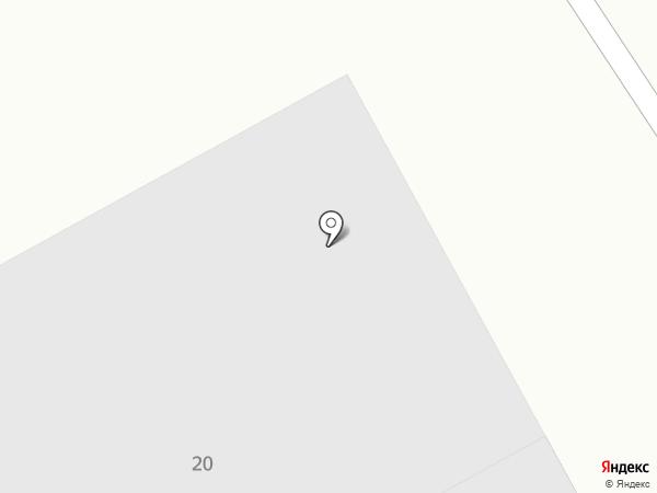 Дружба на карте Томска