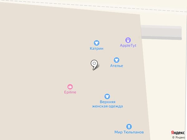 Модные люди на карте Томска