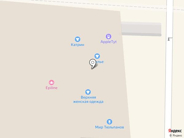 Салон изделий из серебра на карте Томска