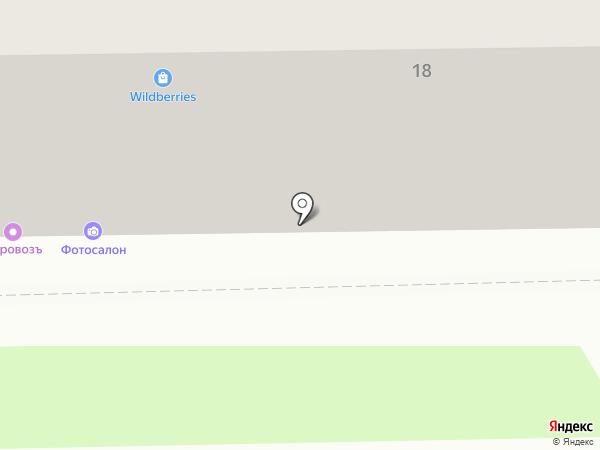 Авангардъ на карте Томска