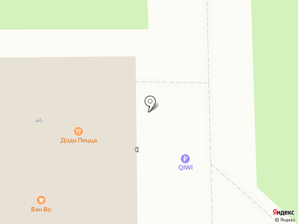 Ноготок на карте Томска