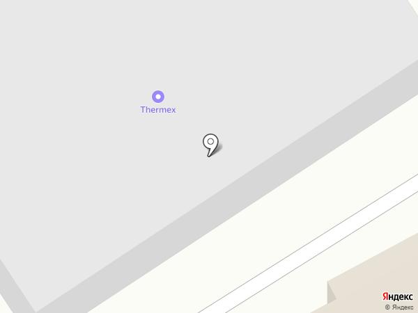 АМК на карте Томска