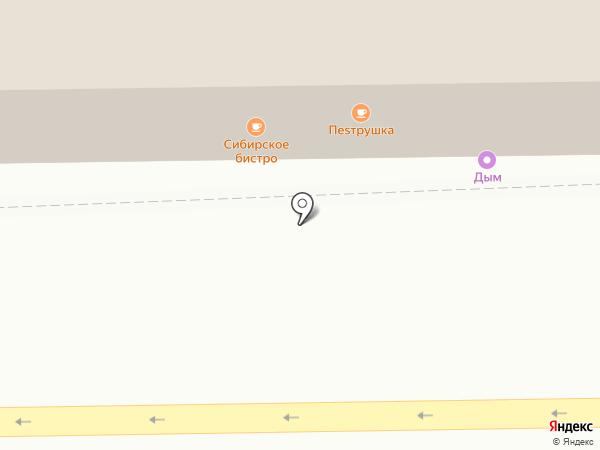 Петруshка на карте Томска