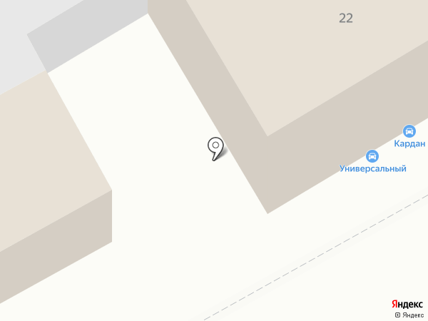 Касперович на карте Томска