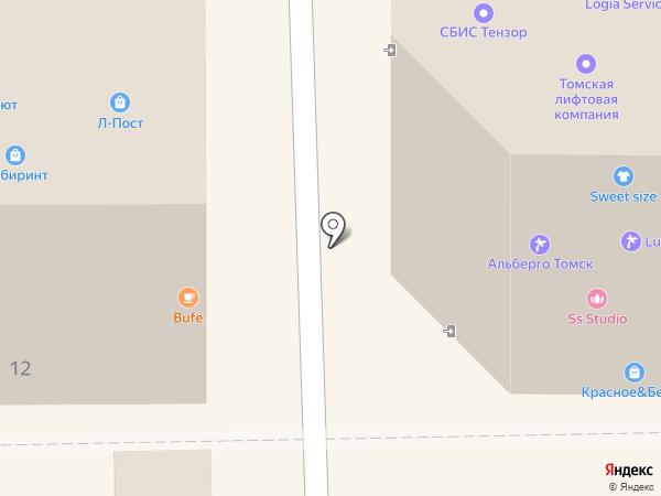 GOOD ЛАК на карте Томска