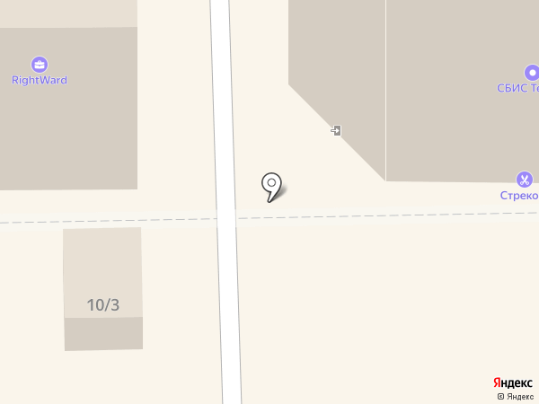 Престиж на карте Томска