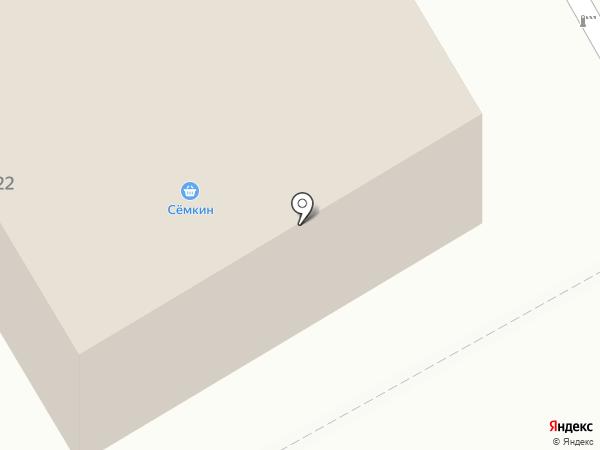 Авто АС-70 эвакуатор на карте Томска