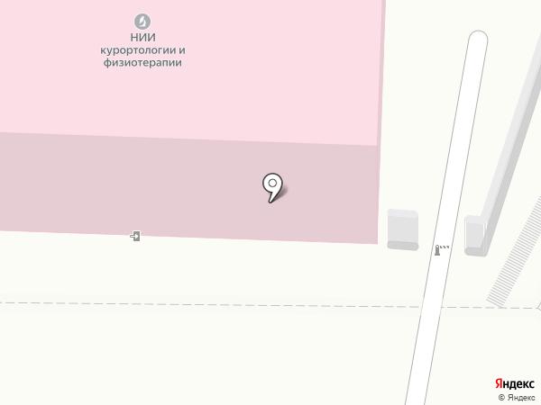 Томский НИИ курортологии и физиотерапии на карте Томска