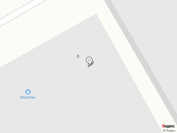 Муравей на карте Томска