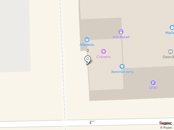 Эпик на карте Томска