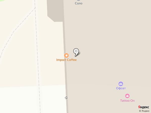 Sementa на карте Томска