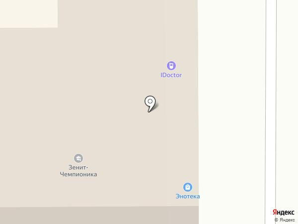 АйДоктор на карте Томска