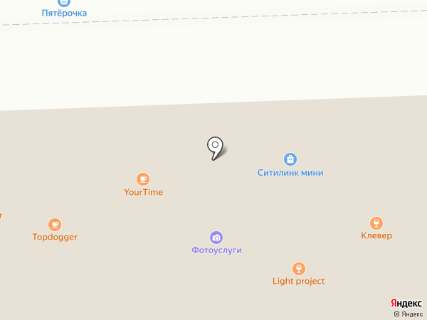 ЭНDОРФИН на карте Томска