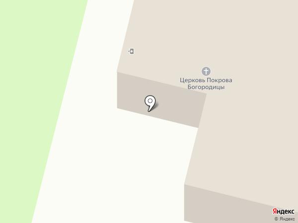 Храм Покрова Пресвятой Богородицы Царицы Святого Розария на карте Томска