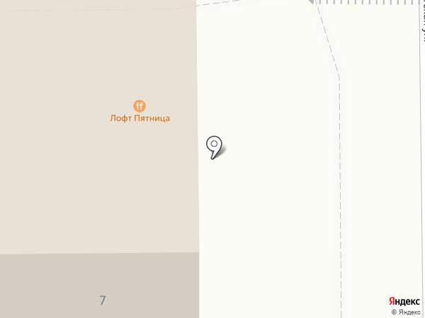 ПЯТНИЦА на карте Томска