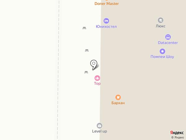Регистон на карте Томска