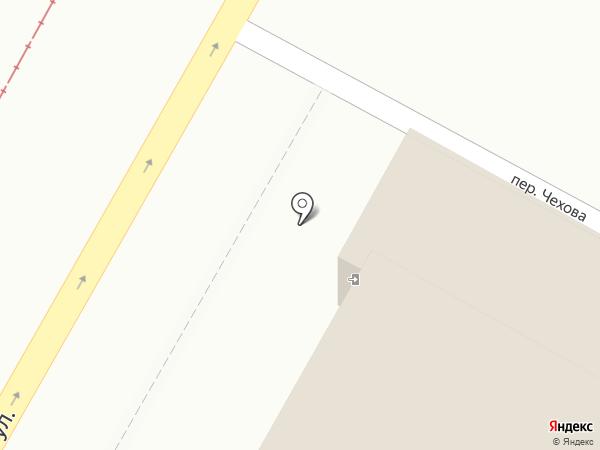 ТОА Втормет на карте Томска
