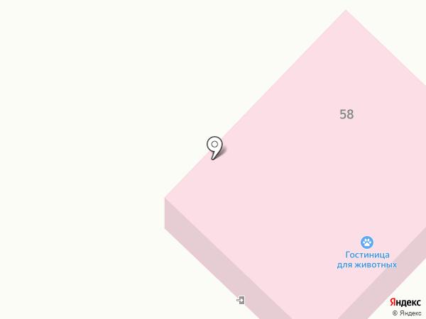Гостиница для собак на карте Белокурихи