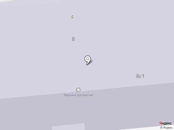 Эврика-развитие на карте Томска