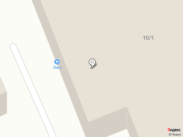 Автосити на карте Томска