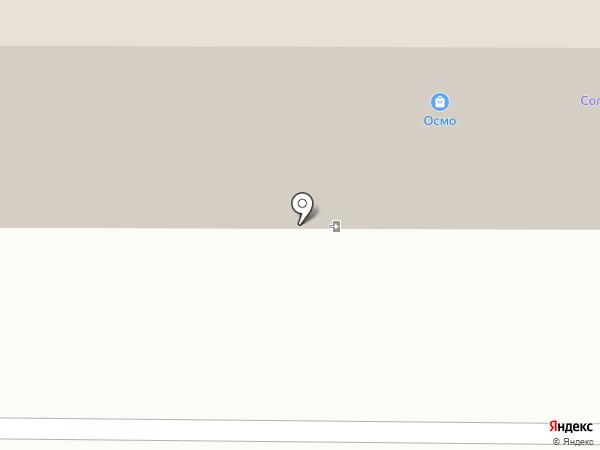 За рулём на карте Томска