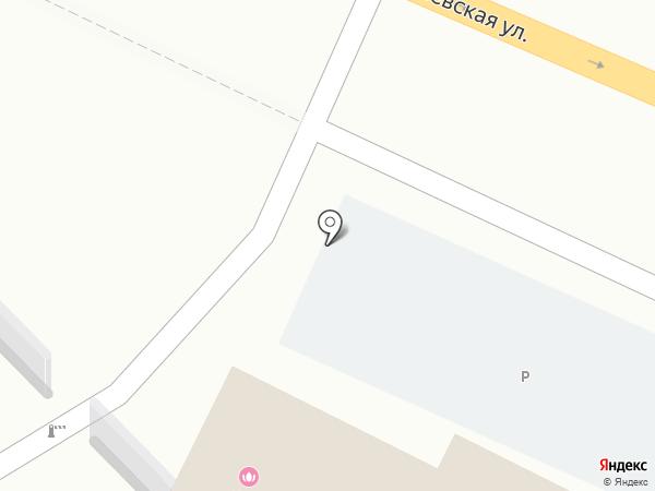 Кемсейф на карте Томска