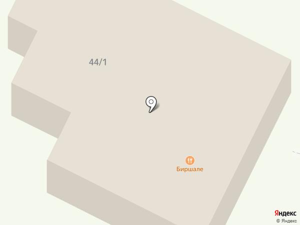 Биршале на карте Белокурихи